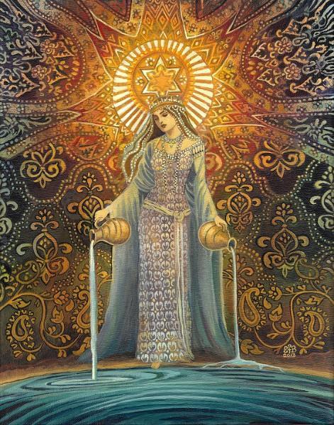 The Star Goddess of Hope by Emily Balivet